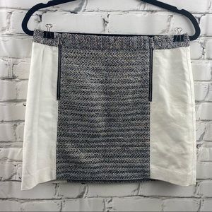 Clum Monaco shiny pleather mini skirt